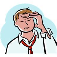 La fatigue, un des symptômes de l'andropause.